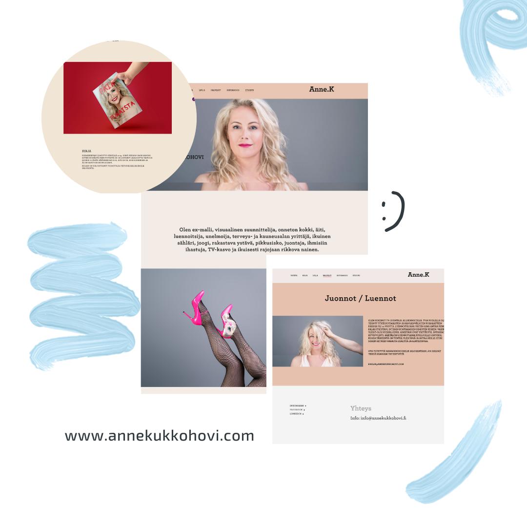 Anne Kukkohovin Brändikotisivu